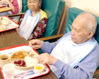 Many residents require eating assistance.