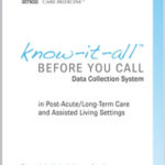 Know-It-All data collection cards