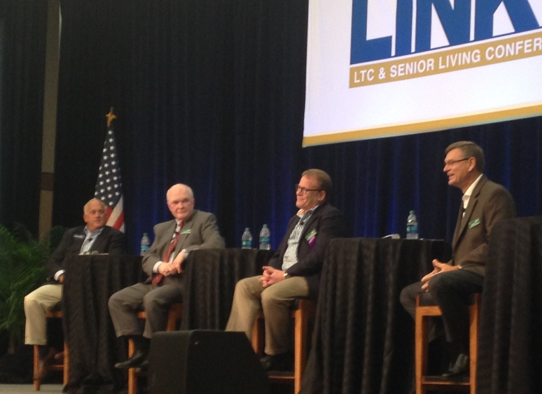 Participants in the CEO panel at LINK