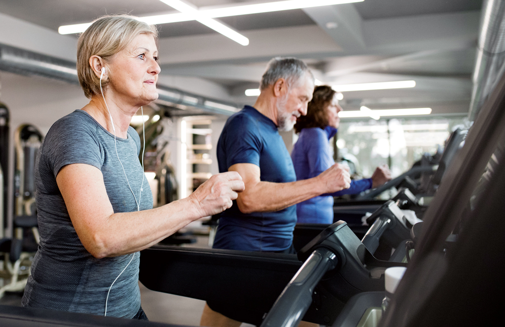 Workouts can hasten decline