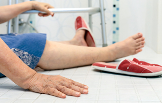 Residents often hesitate to ask for help when they need to go to the bathroom, increasing fall risk.