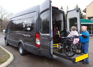 Ford Motor Company is launching its new GoRide non-emergency medical transportation service.