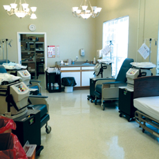 Building an on-site dialysis suite can improve the quality of life for residents.