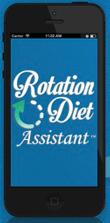 Rotation Diet Assistant