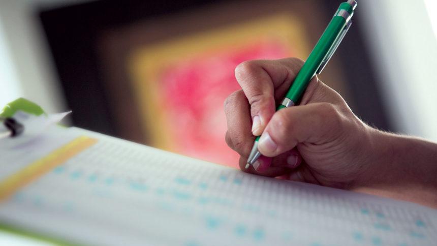 Writing, chart