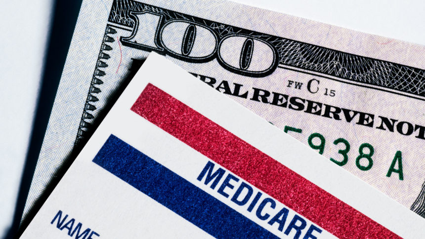 RM, money, medicare card