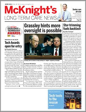 McKnight's Long Term Care News June Cover