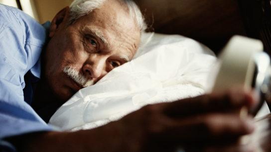 less quality sleep