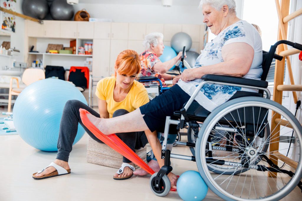 Chair-based exercise boosts function for ambulatory and wheelchair-using residents