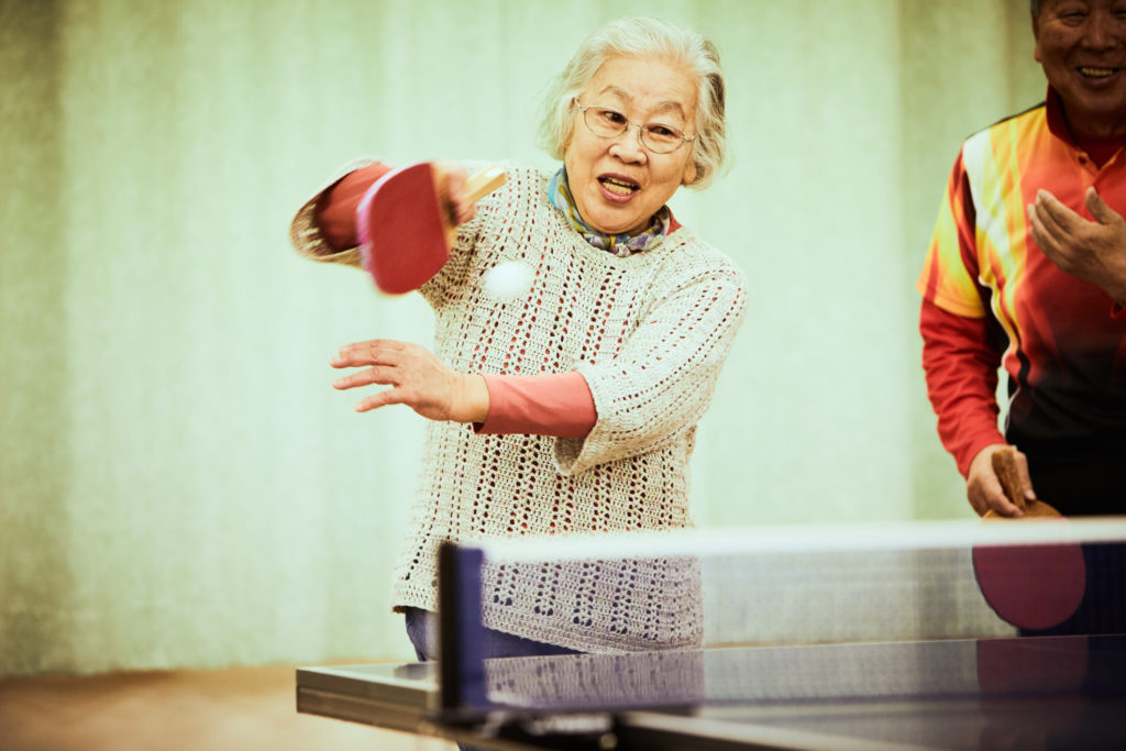 Ping pong may be good physical therapy for people with Parkinson's