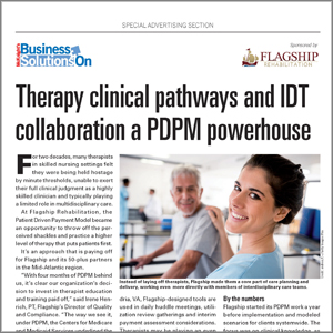 Therapy clinical pathways and IDT collaboration a PDPM powerhouse
