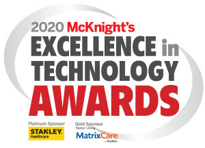2020 McKnight's Excellence in Technology Awards — All winners, Skilled Nursing track