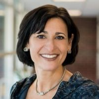 Fuzzy image of CDC Director Rochelle Walensky, M.D.