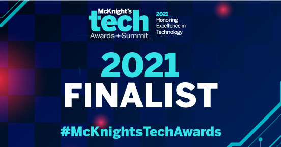 The finalists for the 2021 McKnight's Tech Awards have arrived