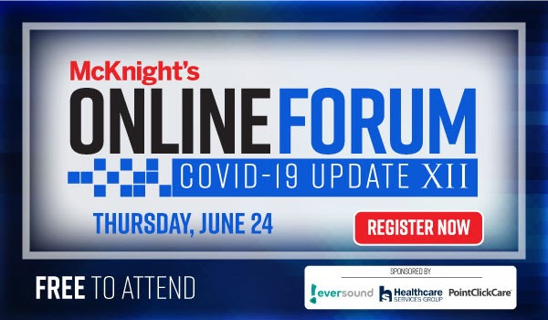 McKnight's Online Forum XII offers new ways to engage residents, meet clinical and technology challenges
